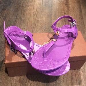 NIB - Purple Coach Sandals